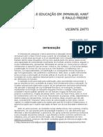 AUTONOMIA E EDUCAÇÃO EM IMMANUEL KANT E PAULO FREIRE