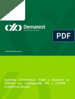 Pag 5 - Questões Controversas Sobre Créditos PIS e COFINS - Conceito de Insumo