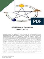 CAP6 Aristóteles e Os 5 Elementos