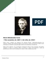 CAP51 Marie Curie