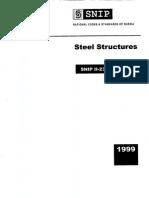 SNIP II-23-81 1999 Steel Structures