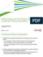 Dallas Police Fire Pension Investments