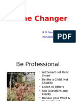 Be the Changer-1
