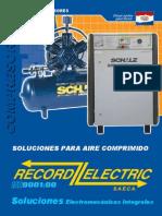 Catálogo de compresores.