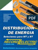 Catálogo de conductores eléctricos.