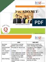 ADO vs ADO.NET