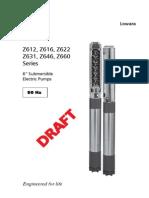 Electrobombas Sumergibles Z6-50Hz en W03-07