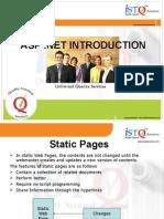 ASP .Net Introduction