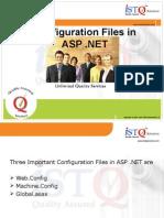 Configuration Files ASP .NET