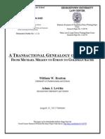 A TRANSACTIONAL GENEALOGY OF SCANDAL