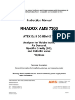 Instruction Manual RADOX analyzer
