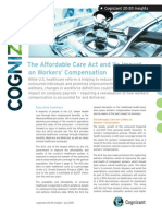 The Affordable Care Act and Its Impact on Workers' Compensation