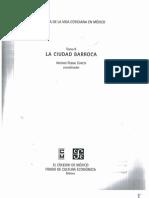 Historia de La Vida Cotidiana en México. Tomo II. La Ciudad Barroca. Antonio Rubial García. Capítulo I. p19-45
