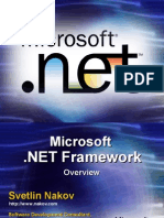 Nakov DotNET Framework Overview English