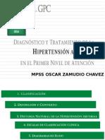 Guia de practica clinica de Hipertension ppt