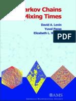 Levin + Perez + Markov + Wilmer (2008). Markov chains and mixing times