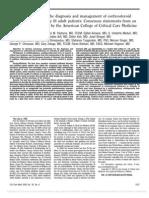 ENDOCRINOLOGIA CoricosteroidInsufficiencyAdult