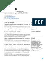 Louie Opatz - Resume