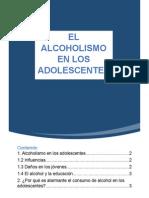 El alcholismo en la adolescencia