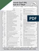 Programando o Excel ® Vba Para Leigos - 2ª Ed 2013 NoDRM