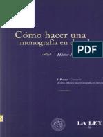 Como Hacer Una Monografia en Derecho 2