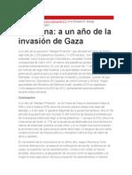 Palestina, a un año de la invasión de Gaza - por Emiliano Monge.docx