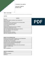 Excel Registros Ventas