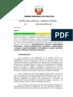 Resolucion Comite Ad Hoc Voladura Huanta
