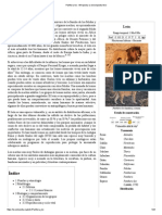 Panthera Leo - Wikipedia, La Enciclopedia Libre
