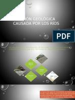 Acción Geológica Causada Por Los Ríos