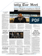 The Daily Tar Heel for July 16, 2015