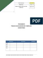 Procedimiento Trabajos Con Soldadura MIG y Esmerilado v.B