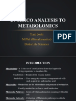 In Silico Analysis to Metabolomics
