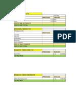 Proyecto de Innovacion Excel