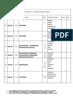 Mesas de Examen Agosto 2015