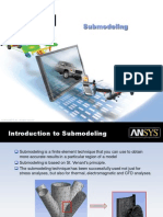 Submodeling in ANSYS