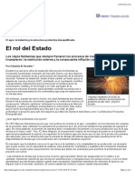 El Rol Del Estado-Diamand