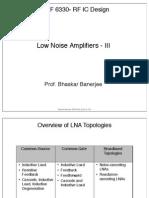 11 Low Noise Amplifiers 3
