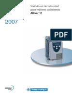 Altivar11 Catalogo ESP