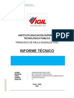Informe Técnico Visitado a Obra