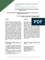 -------------Aspectos Importantes Na Prescrição Do Exercício Físico Para o Diabetess Mellitus Tipo 2 - CARDOSO Et Al (2007)