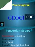 Pengertian Geografi