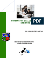 Formacion de Auditores SSO (PRESENTACION)