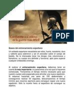 Bases Del Entrenamiento Espartano.