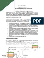Especificaciones Trabajo 201410
