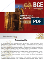 Estadisticas Macroeconómicas 2014 Ecuador