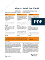Tip Sheet Calculating When to Switch Your SCADA