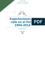Exportaciones de Cafe en El Peru-1