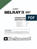 Manual de aparato de rayos x