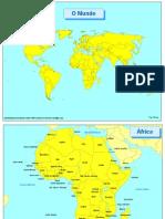Mapas Dos Continentes Sepal